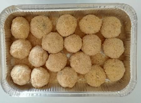 Arancini di riso partenopei (palle di riso)