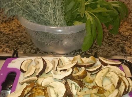 Risotto ai funghi porcini con riso integrale