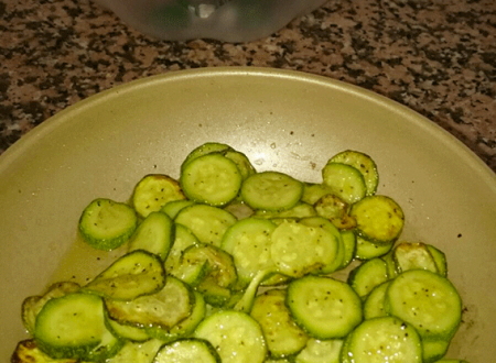Orzotto con zucchine e scamorza