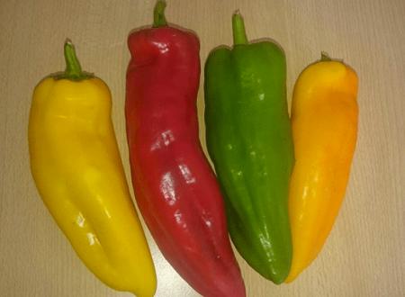 Corni di Peperone al forno