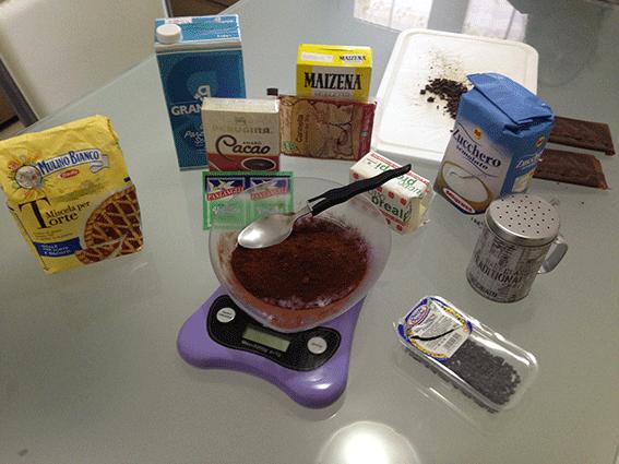 Sanguinaccio con cacao amaro