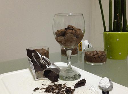 Mousse al cioccolato la delizia delle delizie