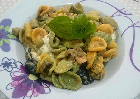 Orecchiette Arcobaleno con misto di verdure